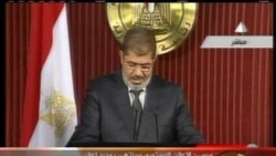 Morsi speech after Palace clashes